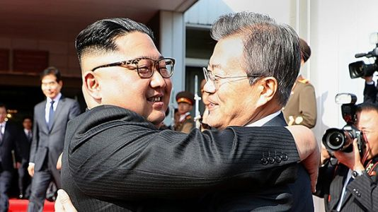 North And South Korean Leaders Hold Surprise Meeting