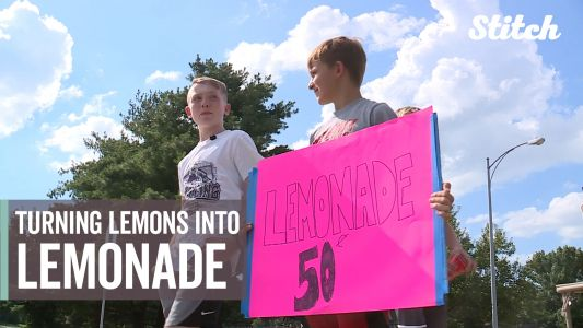 Boy gets sweetest revenge after thieves steal from lemonade stand