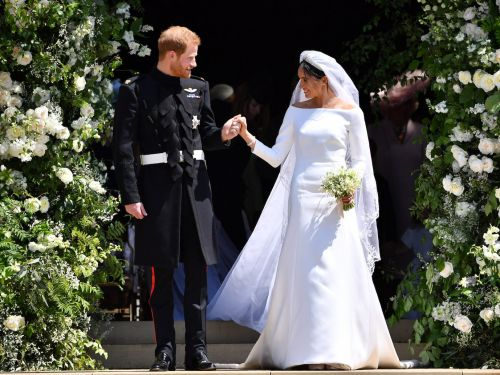 Meghan Markle revealed 'something blue' she wore at the royal wedding - and it's a sweet tribute to Prince Harry