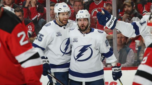 NHL playoffs 2018: Nikita Kucherov in middle of everything as Lightning beat Devils in Game 4