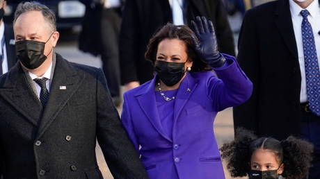 Inauguration's most 'enduring image'? To deluge of mockery, Atlantic journo says it was Kamala Harris's 'hair blowing in the wind'