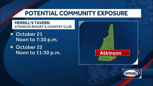 DHHS warns of potential community coronavirus exposure at Atkinson restaurant