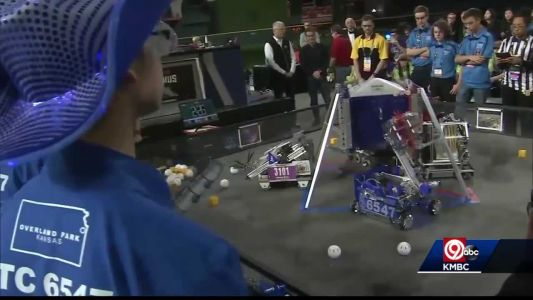 'Winning was such an honor': Local robotics team brings home world title