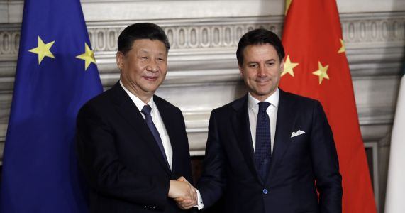 Italy, China sign memorandum deepening economic ties