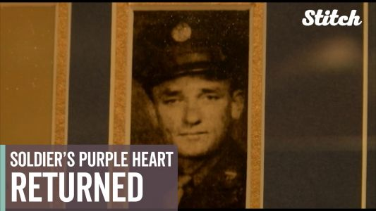 Solider's Purple Heart returned 72 years after his death