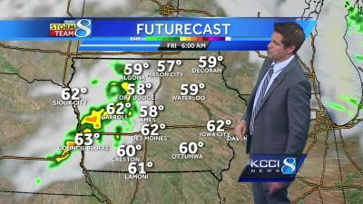 Videocast: Tracking next chance for rain