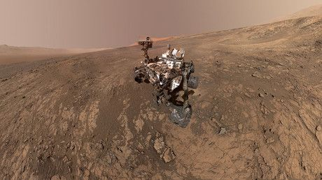 Curiosity rover snaps stunning selfie during dust storm on Mars