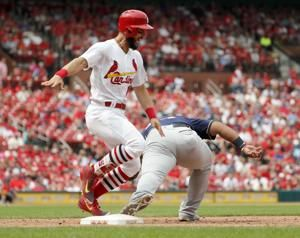 Chacin pitches 6 scoreless, Brewers beat Cardinals 2-1