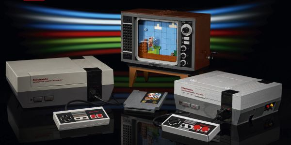 Nintendo and Lego teamed up to create a Lego version of the classic NES game console, on sale August 1 for $200