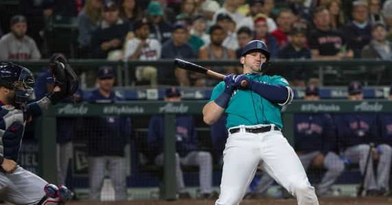 Daniel Vogelbach gets another shot in place of slumping Ryon Healy, and Mike Zunino could be back on Sunday