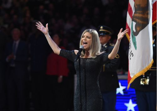 Fergie issues apology after rendition of national anthem receives backlash