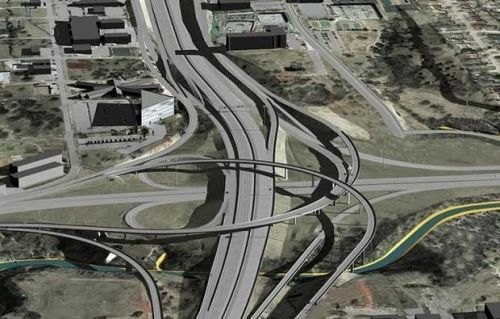 'Disruptive' I-235 project to begin in OKC