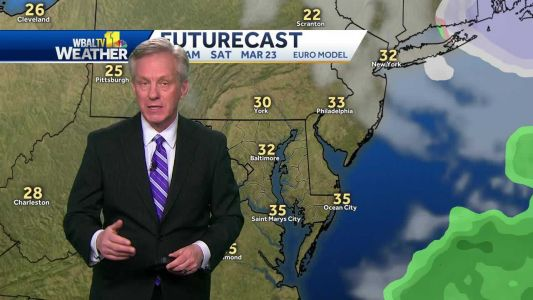 Winds expected for first full Spring weekend