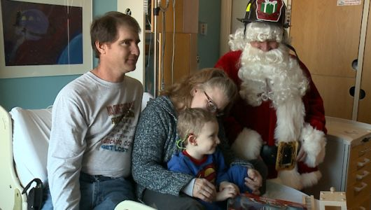 Omaha Professional Fire Fighters Association carries on legacy of little boy at Children's Hospital