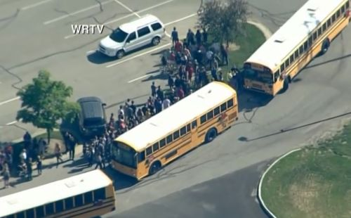 Multiple injuries reported after shots fired at central Indiana middle school; suspect in custody