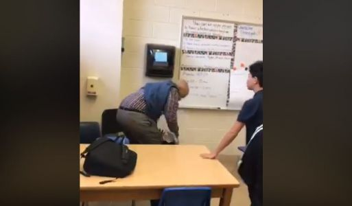 Substitute teacher fired after video surfaces of student being body-slammed