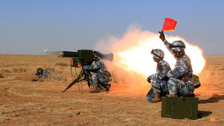 China stages 1st live fire drills at overseas base in Djibouti