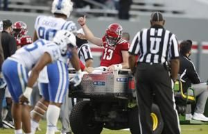 NC State QB Leary out 4-8 weeks