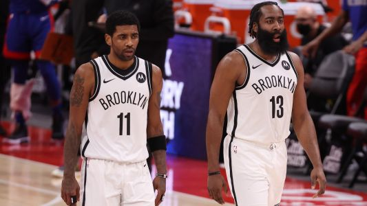 Nets injury updates: Will James Harden, Kyrie Irving play vs. Spurs?