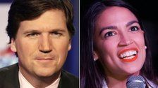 Fox News' Tucker Carlson Stuns Himself By Agreeing With Alexandria Ocasio-Cortez