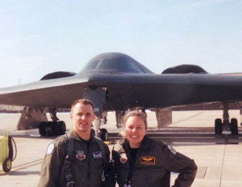 'We're a team': First husband-wife pilots to fly the B-2 retire from the Air Force