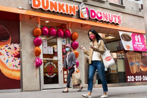 Dunkin' shares surge amid talks to go private in $8.8 billion deal