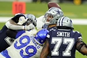 Cowboys put CB Brown on IR; LT Smith may sit against Falcons