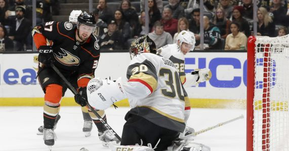 Karlsson's hat trick, Theodores OT goal lifts Knights to win