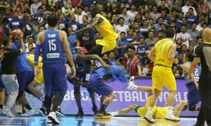 FIBA bans players, coaches for basketball brawl in Manila