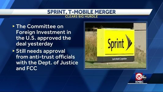 Sprint, T-Mobile merger clears big hurdle