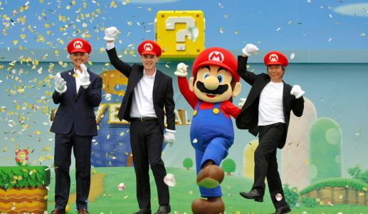 Here's our best look yet at Super Nintendo World, the new section of Universal Studios dedicated to all things Super Mario