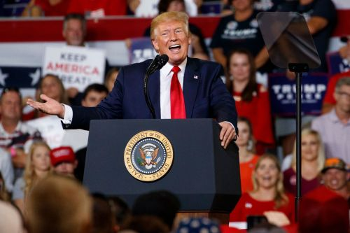 Trump rails against Ilhan Omar, the 'Squad' during raucous rally