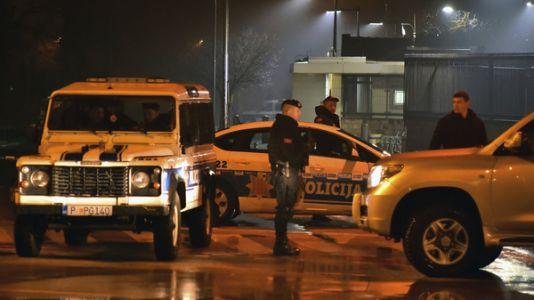Hand Grenade Thrown At U.S. Embassy In Montenegro, Attacker Killed