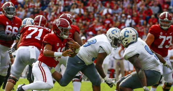 For 3rd straight week, 'Bama, Clemson, ND, Michigan top CFP