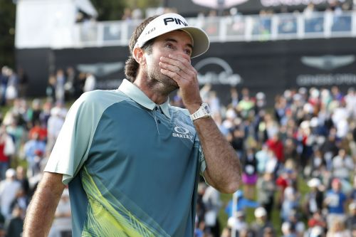 Bubba Watson's face says it all in moment he didn't think possible