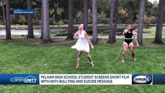 Pelham High School student screens short film with anti-bullying, anti-suicide message
