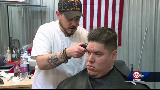More than a haircut: Veteran turns passion into charity