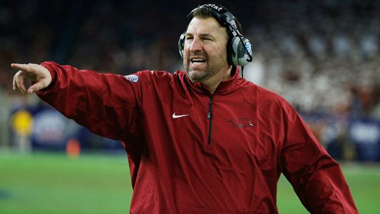 Bret Bielema dismissed as Arkansas head coach