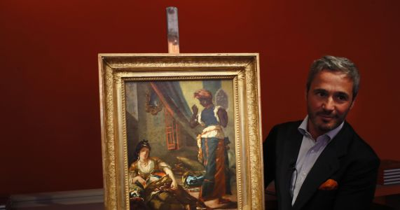 Missing treasure: Delacroix canvas rediscovered, now on sale