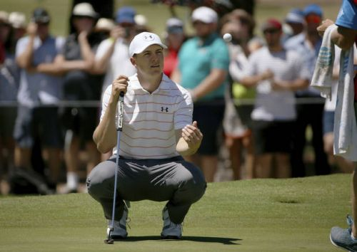 Spieth shoots 70, doesn't do much moving at Australian Open