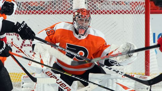 "Flyers goalie Carter Hart: ""It sucks that we're not playing hockey right now"""