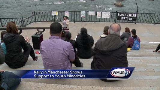 Manchester rally shows support for youth minorities
