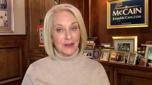 Cindy McCain thinks Trump's record could cause red state to flip