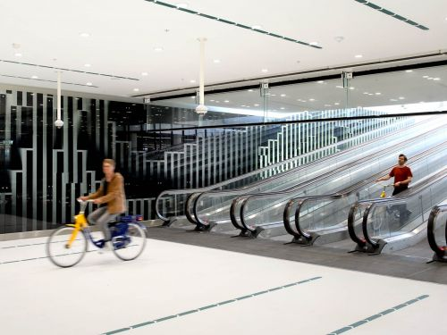One of Europe's largest bicycle garages was built in the Netherlands - see inside