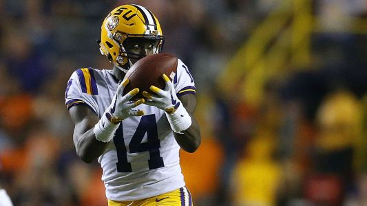LSU suspends WR Drake Davis indefinitely after arrest