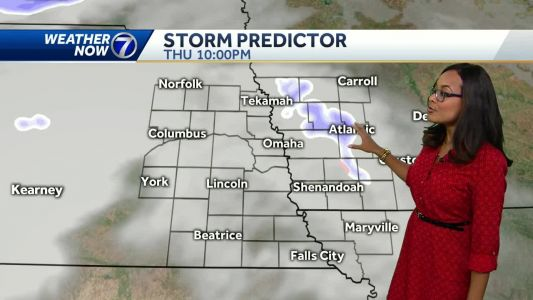 Snow moves out of the metro Wednesday afternoon