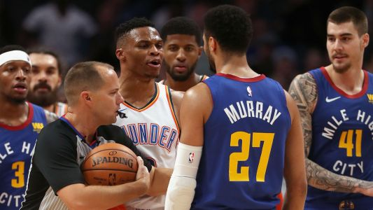 Russell Westbrook on Jamal Murray scuffle: He was in my way
