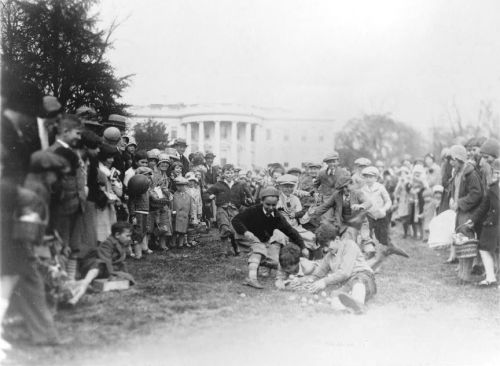 When the Washington Easter Egg Roll Was Chaos
