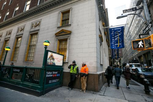 Pace University pushing MTA to put school's name on subway stations