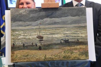 Stolen Van Gogh masterpieces found in Mafia's lair returning home after mobster's conviction